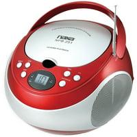 Naxa NPB251 Portable Cd Player With Am/fm Radio