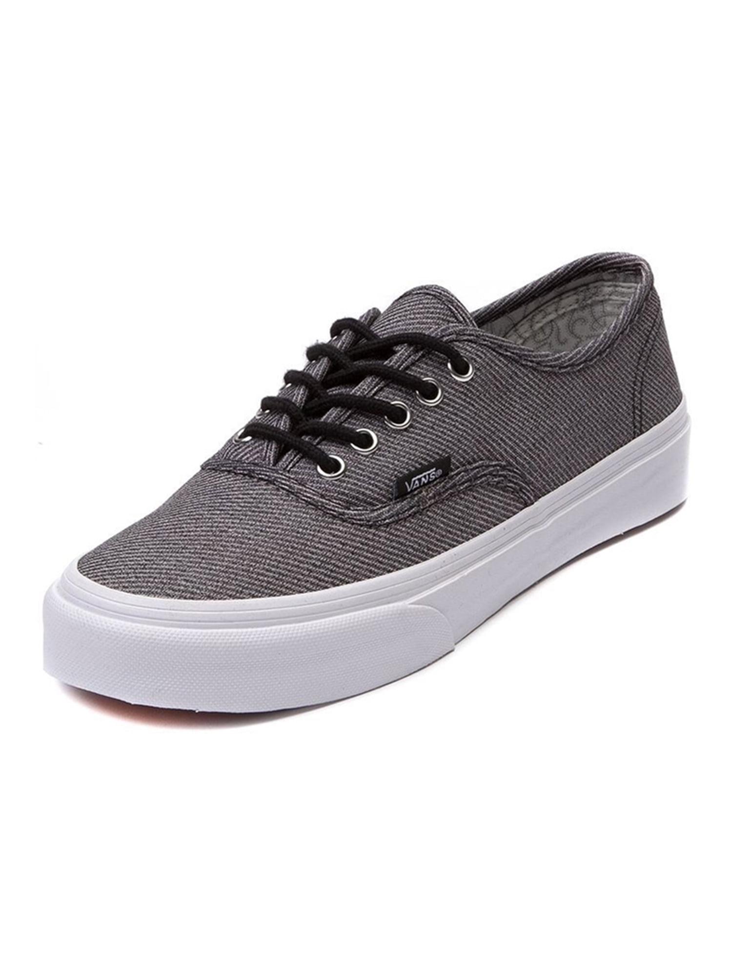 2505e2623b Vans Unisex Authentic Slim Suiting Sneakers blacktruewhite M3.5 W5