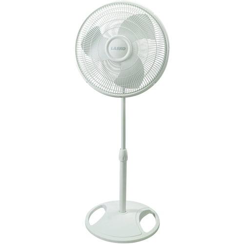 "Lasko 16"" Oscillating Stand Fan in White by Lasko Products"