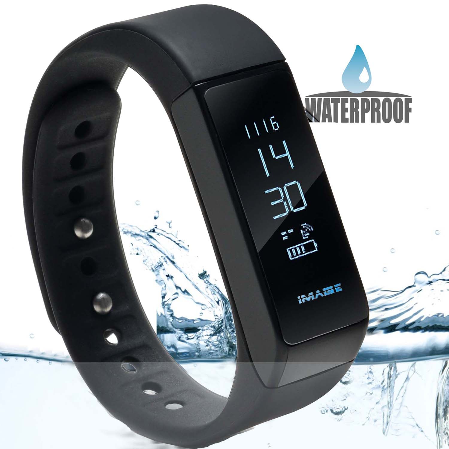 fit watch iphone image waterproof b luetooth fitness tracker bracelet smart 2653