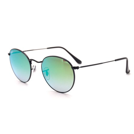 ea0a03cae66 Ray-Ban - Ray-Ban Round Flash Lenses Gradient Sunglasses RB3447-002 ...