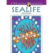 Dover Creative Haven Coloring Book, Sealife Designs