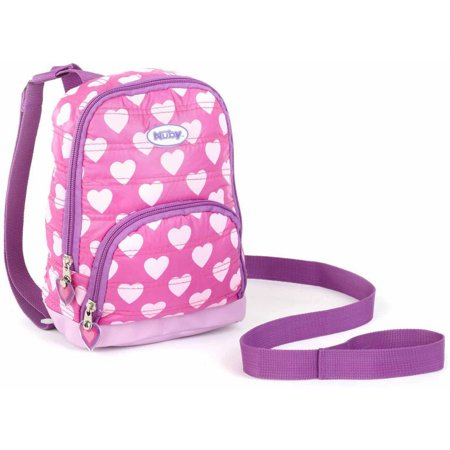 Nuby Quilted Backpack Harness  Pink