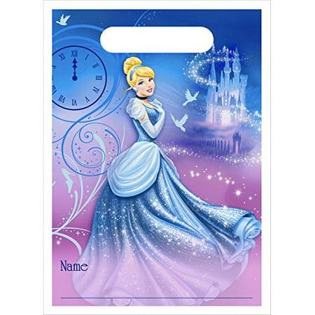 Disney Cinderella Sparkle Treat Bags (Cinderella Birthday)