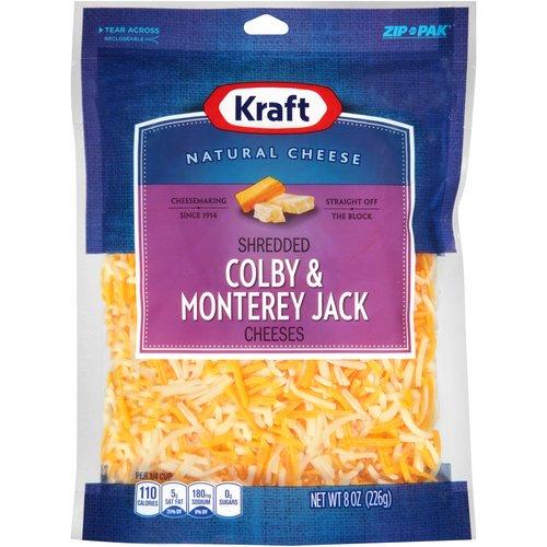 shredded monterey jack cheese