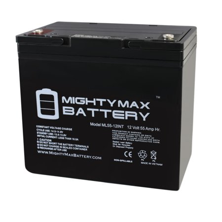 12V 55AH Internal Thread Battery for Minn Kota Endura Trolling Motor (Minn Kota Trolling Motor Battery)