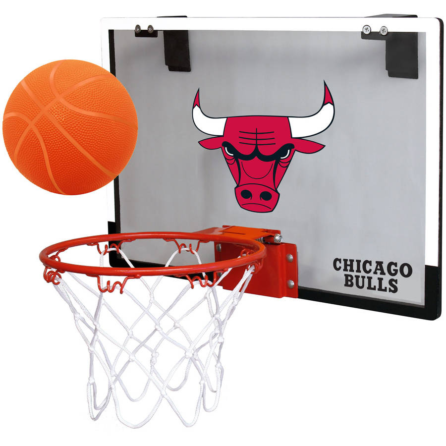 Rawlings NBA Game On Polycarb Hoop Set Chicago Bulls