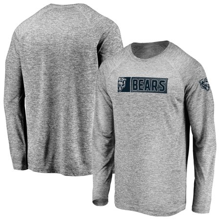 Men's Fanatics Branded Gray Chicago Bears In the Zone Long Sleeve T-Shirt (Macys Chicago)