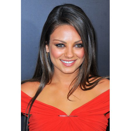 Mila Kunis At Arrivals For Friends With Benefits Premiere The Ziegfeld Theatre New York Ny July 18 2011 Photo By Gregorio T Binuyaeverett Collection Photo Print