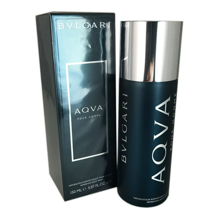 Bvlgari Aqva for Men Refreshing Body Spray 5.07 oz