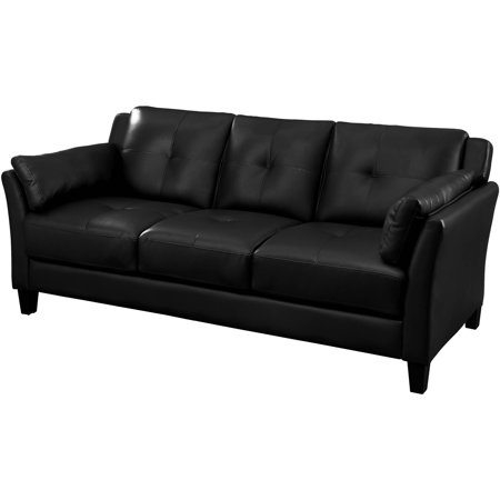 "Furniture of America Roseanne II Contemporary 75.5"" Sofa, Multiple Colors"