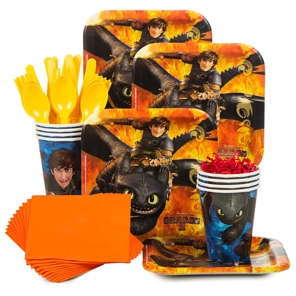 How to Train Your Dragon Standard Kit (Serves 8) - Party Supplies