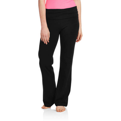 Juniors' Flare Yoga Pants (Prints And Solids) by No Boundaries
