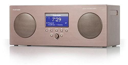 Tivoli Audio Music System 3 Portable AM FM RDS Bluetooth Music System Black by Tivoli