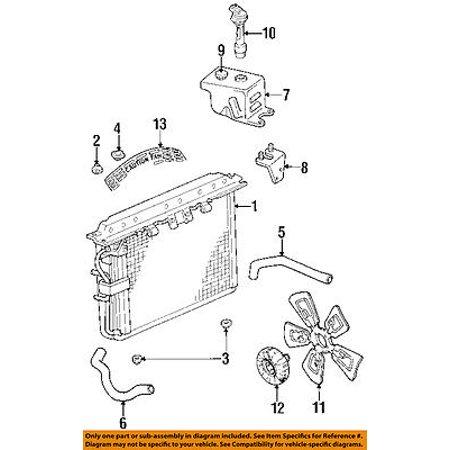Jeep CHRYSLER OEM 94-98 Grand Cherokee 5.2L Cooling Fan