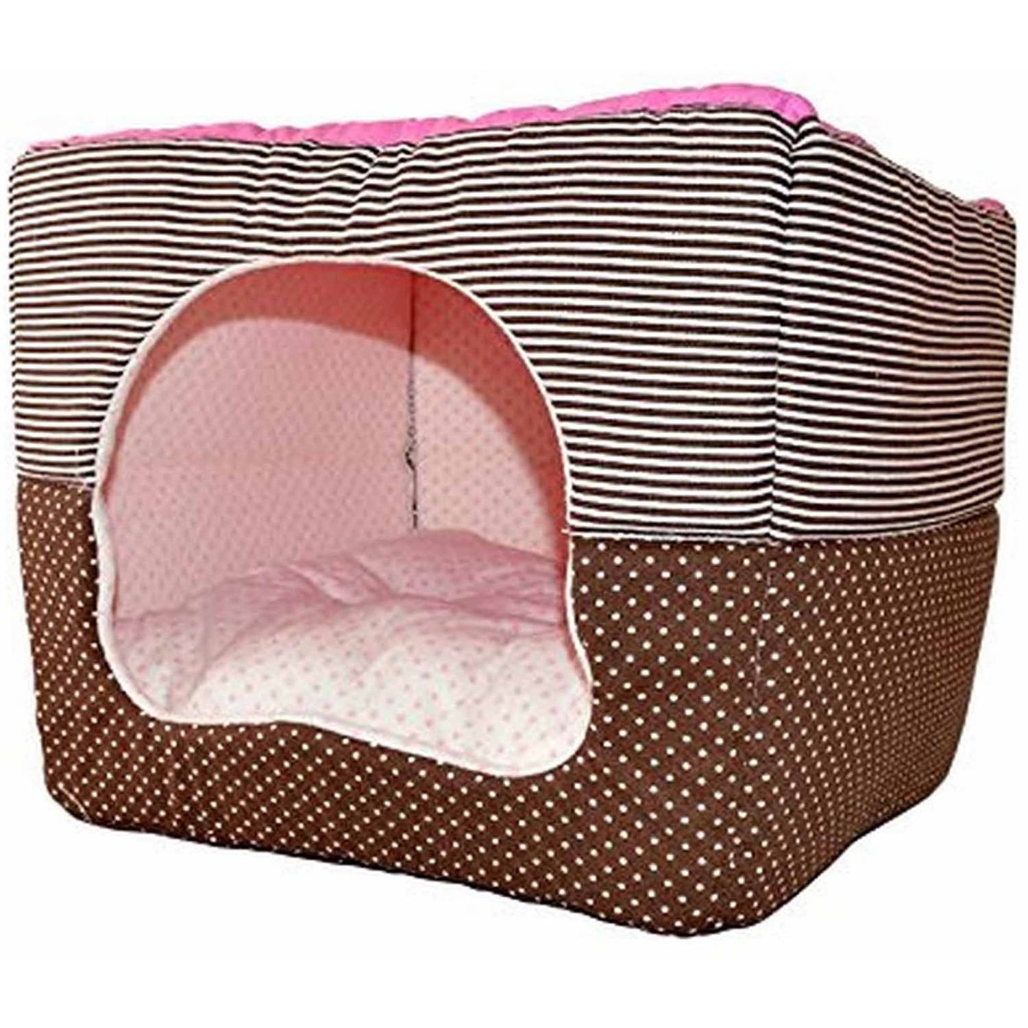 ALEKO ADH14012S Soft Pet Dog Cat Bed House Kennel Doggy Warm Cushion Basket
