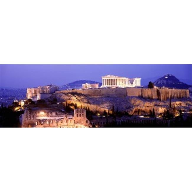 Acropolis Athens Greece Poster Print, 18 x 6 - image 1 de 1