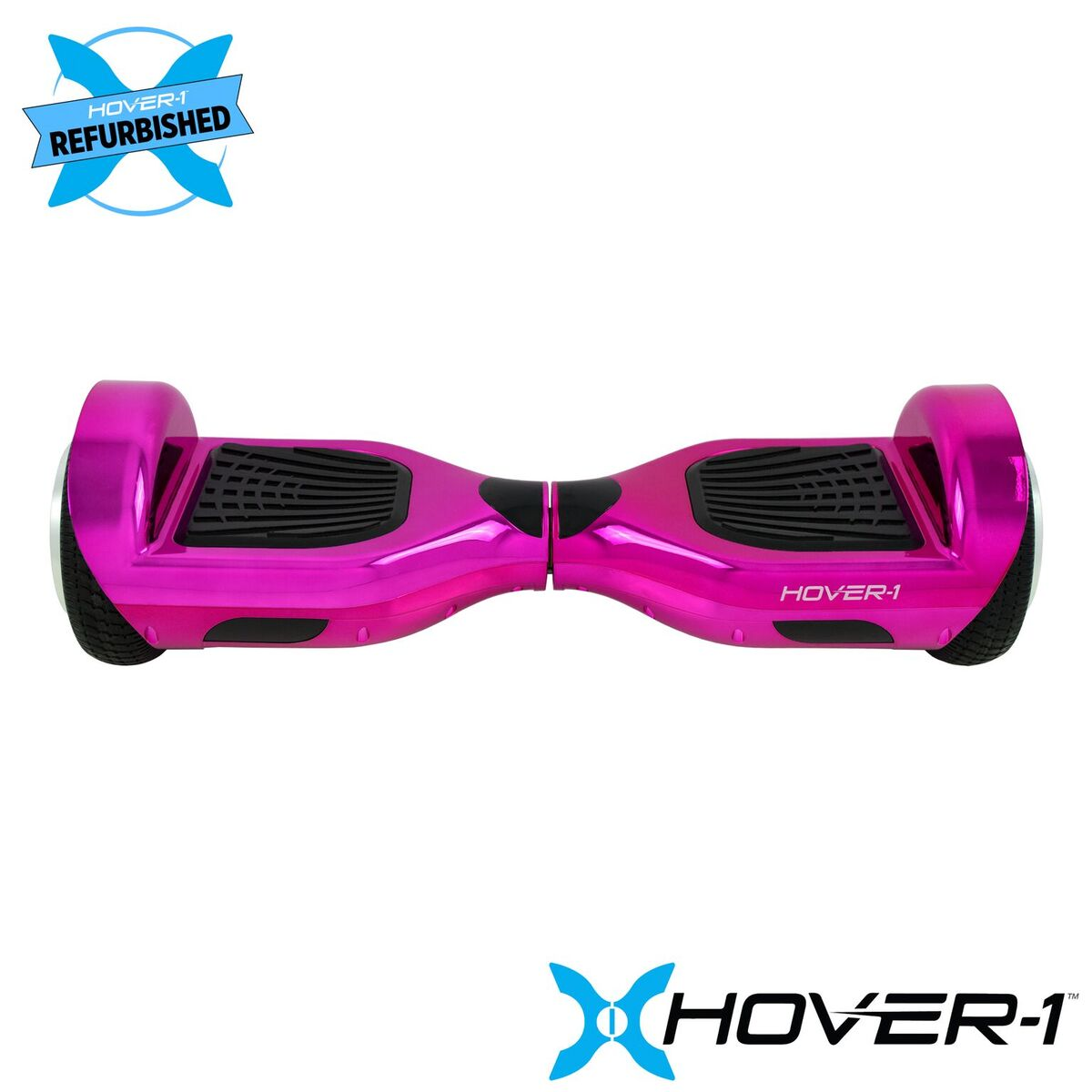 Hover-1 Refurbished Ultra Electric Self Balancing Hoverboard with LED Lights and 4 Hour Battery Life - Pink