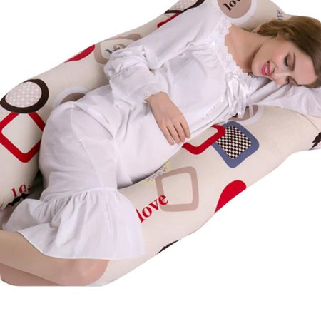 Belly Contoured Body Pillow pregnant woman bolster pregnant pillow