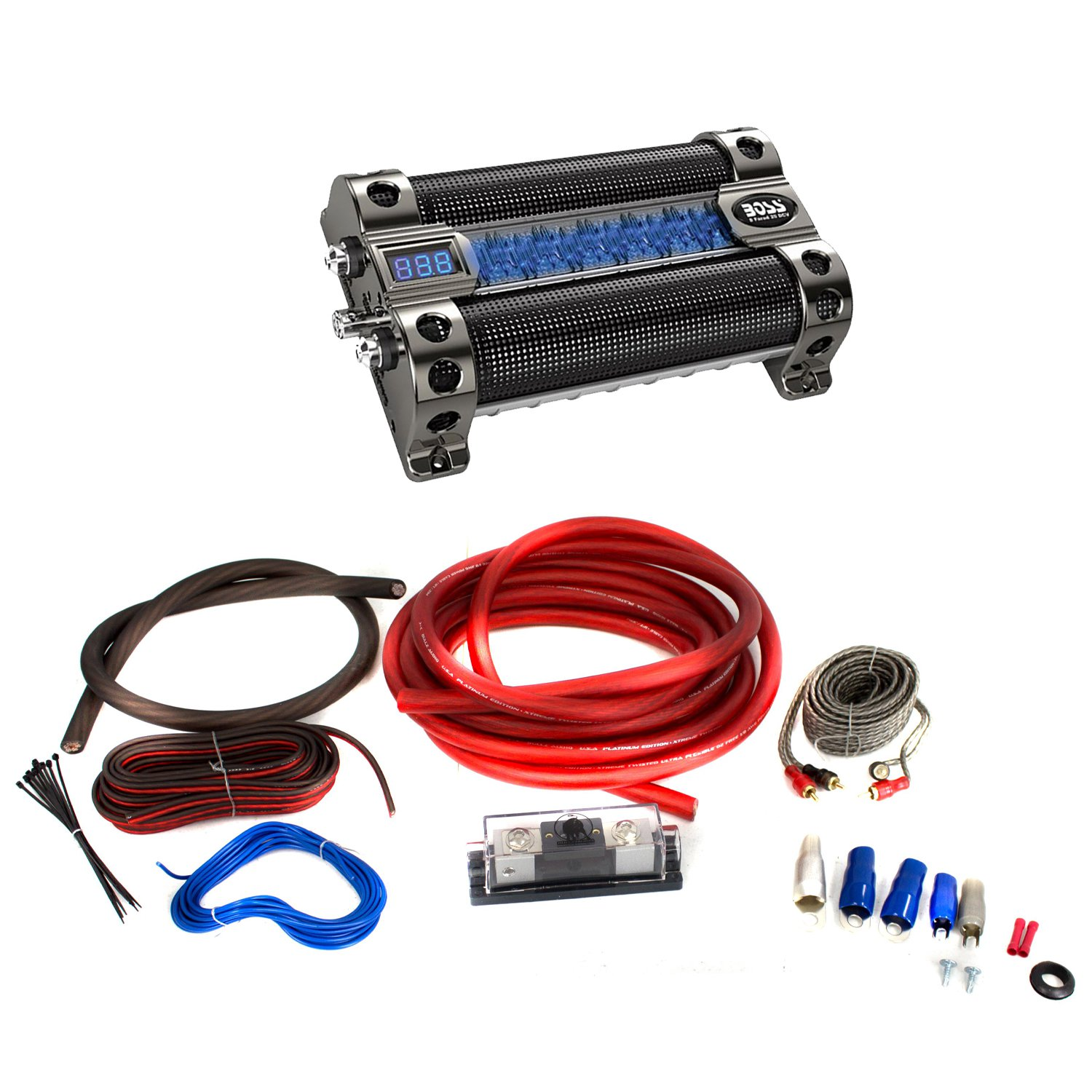Amp Wiring Kits With Capacitors Wire Data Schema Car Amplifier Images Gallery