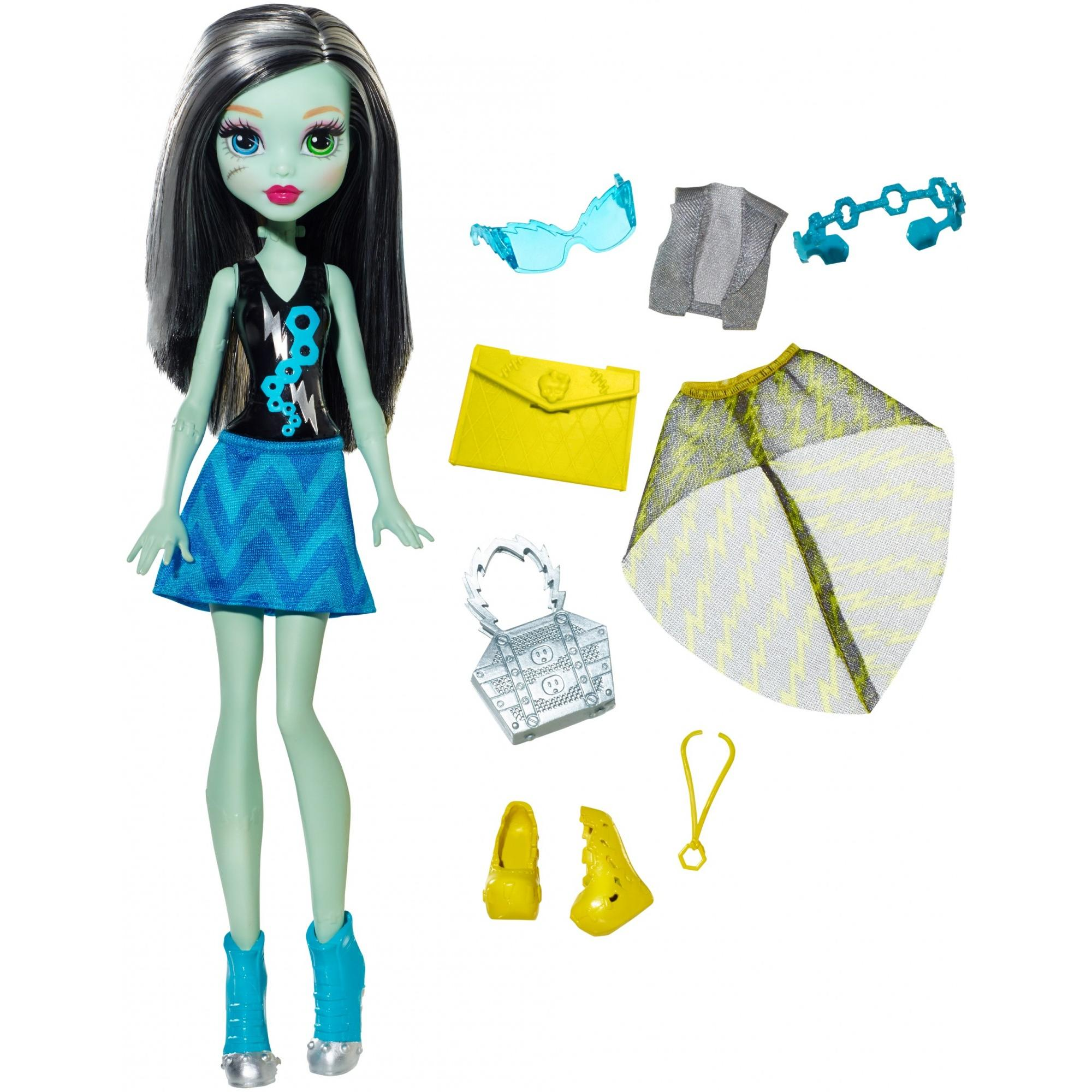 Monster High Day-To-Night Fashions Frankie Stein Doll by MATTEL INC.