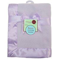 "American Baby Company Fleece Blanket with 2"" Satin Trim"