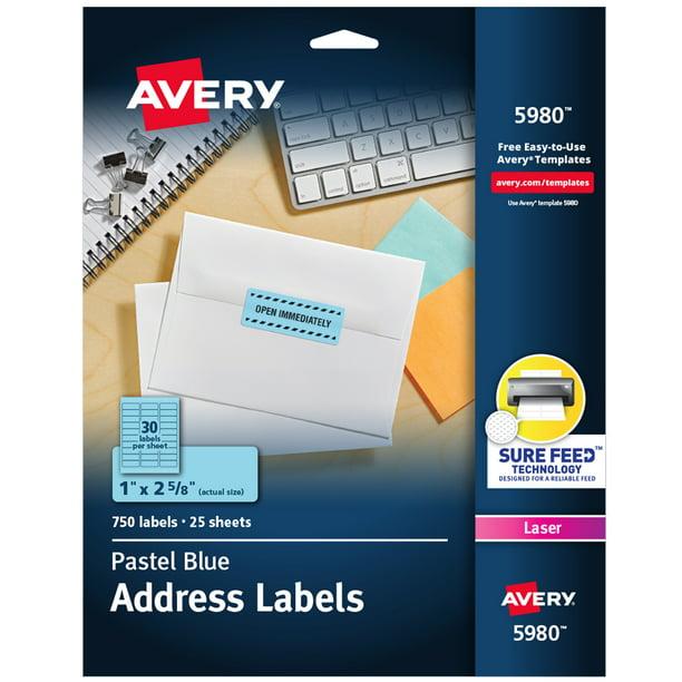 It is an image of Fan Avery Labels 8293 Walmart