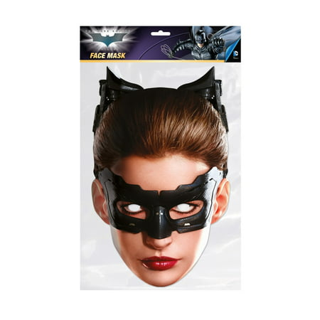 The Dark Knight Catwoman Facemask – Costume Accessory](Latex Catwoman Halloween Costume)
