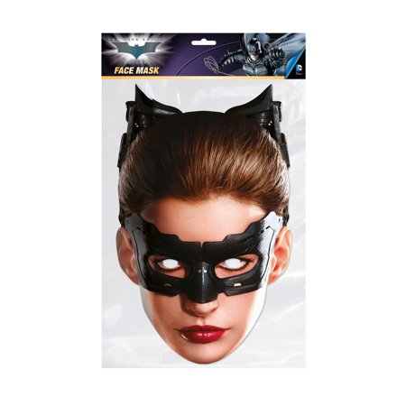 The Dark Knight Catwoman Facemask – Costume Accessory](Catwoman Adult Costumes)