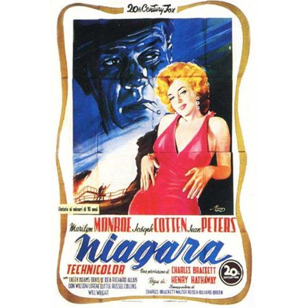 Posterazzi MOV417333 Niagara Movie Poster - 11 x 17 in. - image 1 of 1