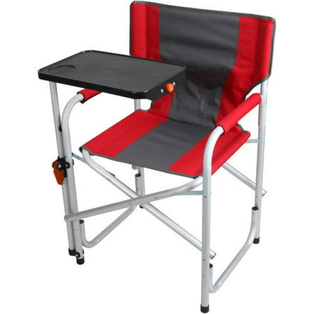 Portable Folding Aluminum Lawn Patio Director Chair With
