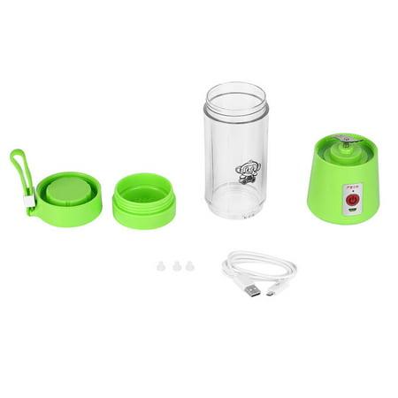 Portable 380ml USB Electric Fruit Juicer Handheld Smoothie Maker Blender Rechargeable Mini