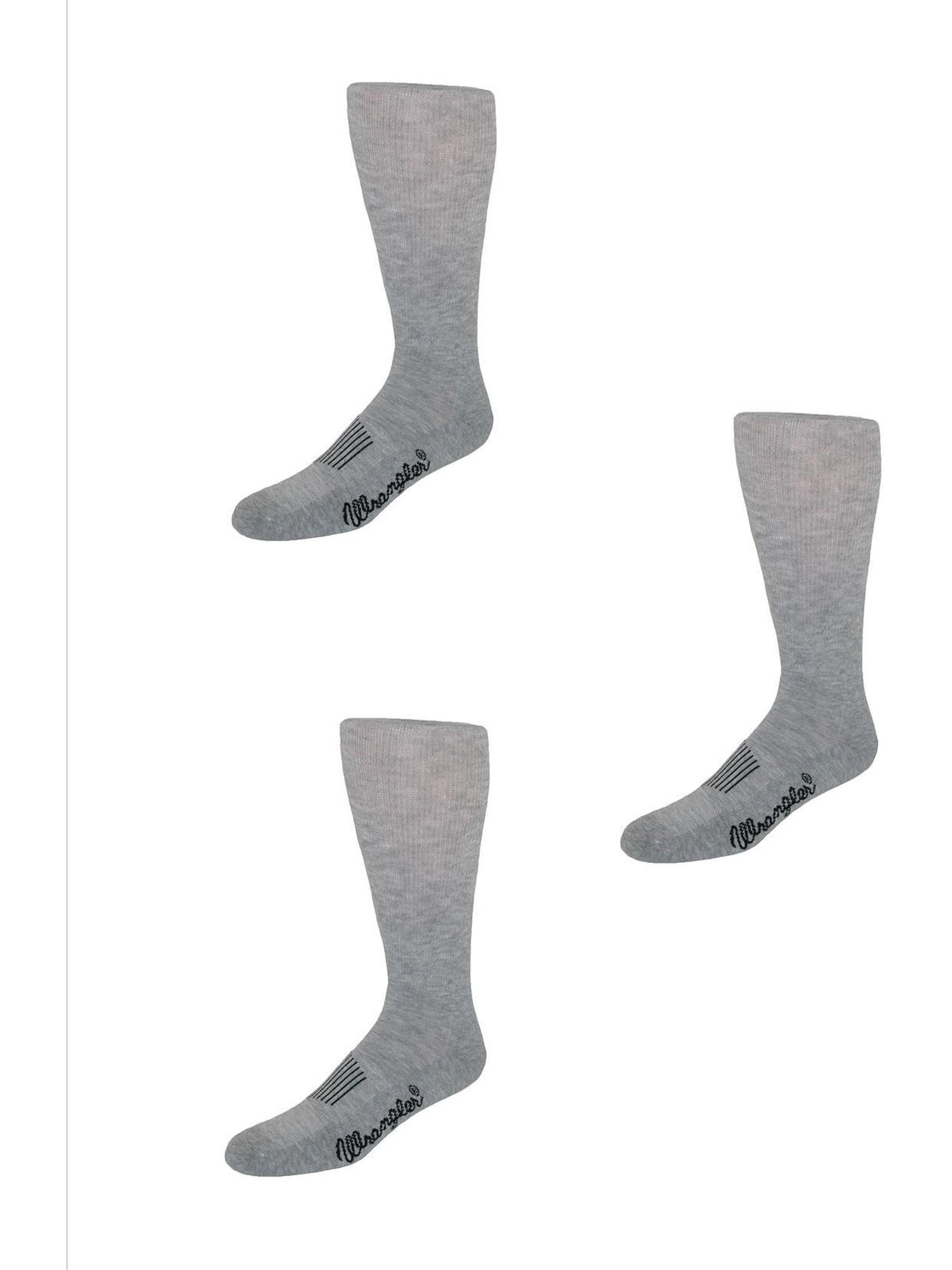 Men's Dry Wick Western Boot Sock (Pack of 3)