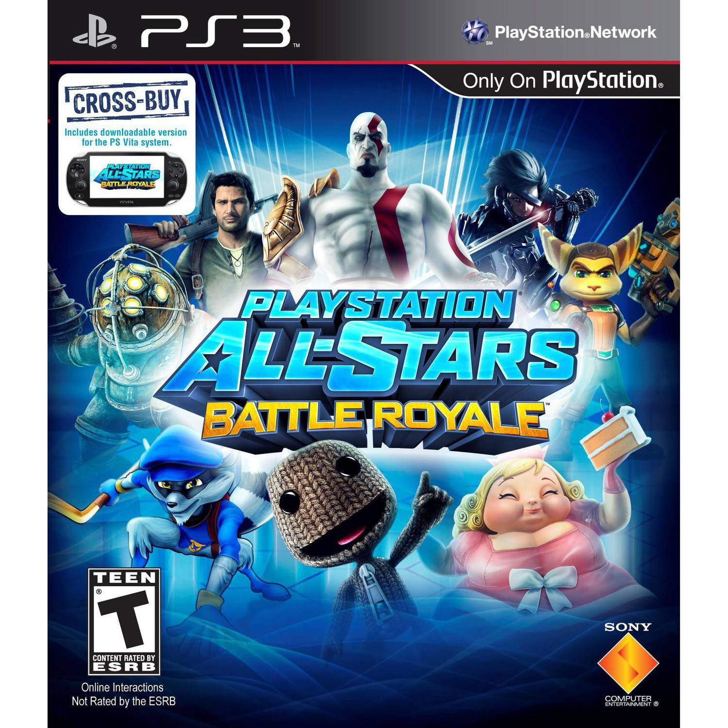 PlayStation All-Stars Battle Royale (PS3) - Pre-Owned