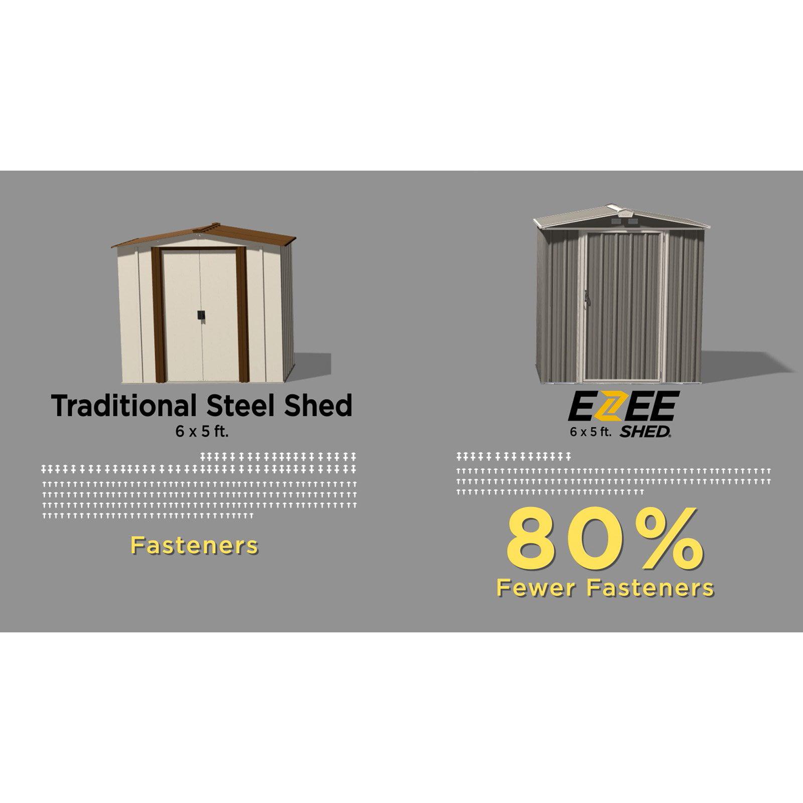 Outdoor Steel Ezee Storage Shed