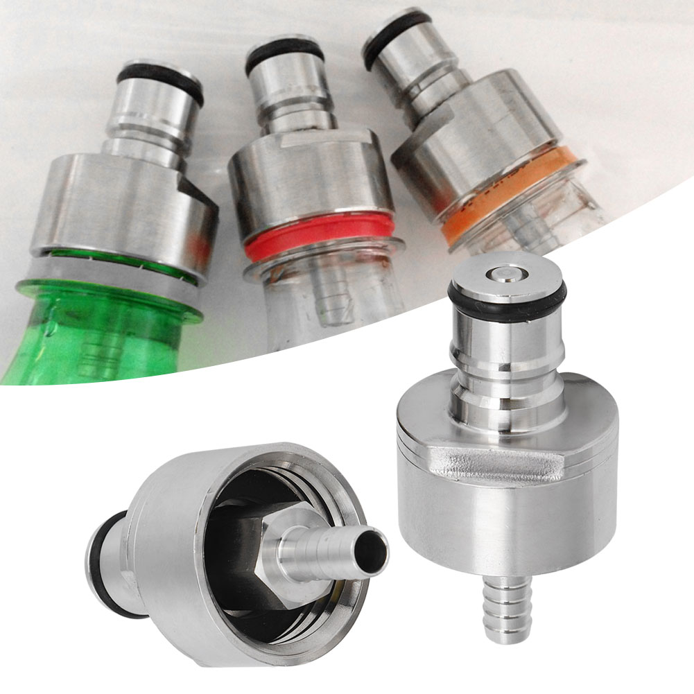 Fit Most Soft Drinks PET Bottles Stainless Carbonation Cap Ball Lock Type