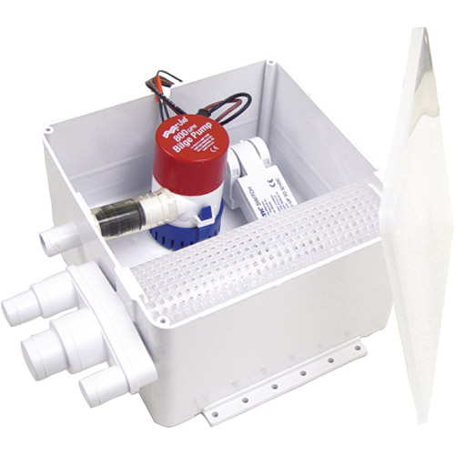 Rule 12V Shower Drain Kit