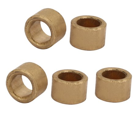 8mmx12mmx8mm Self-lubricating Bushing Sleeve Brass Bearings 5PCS - image 1 de 1
