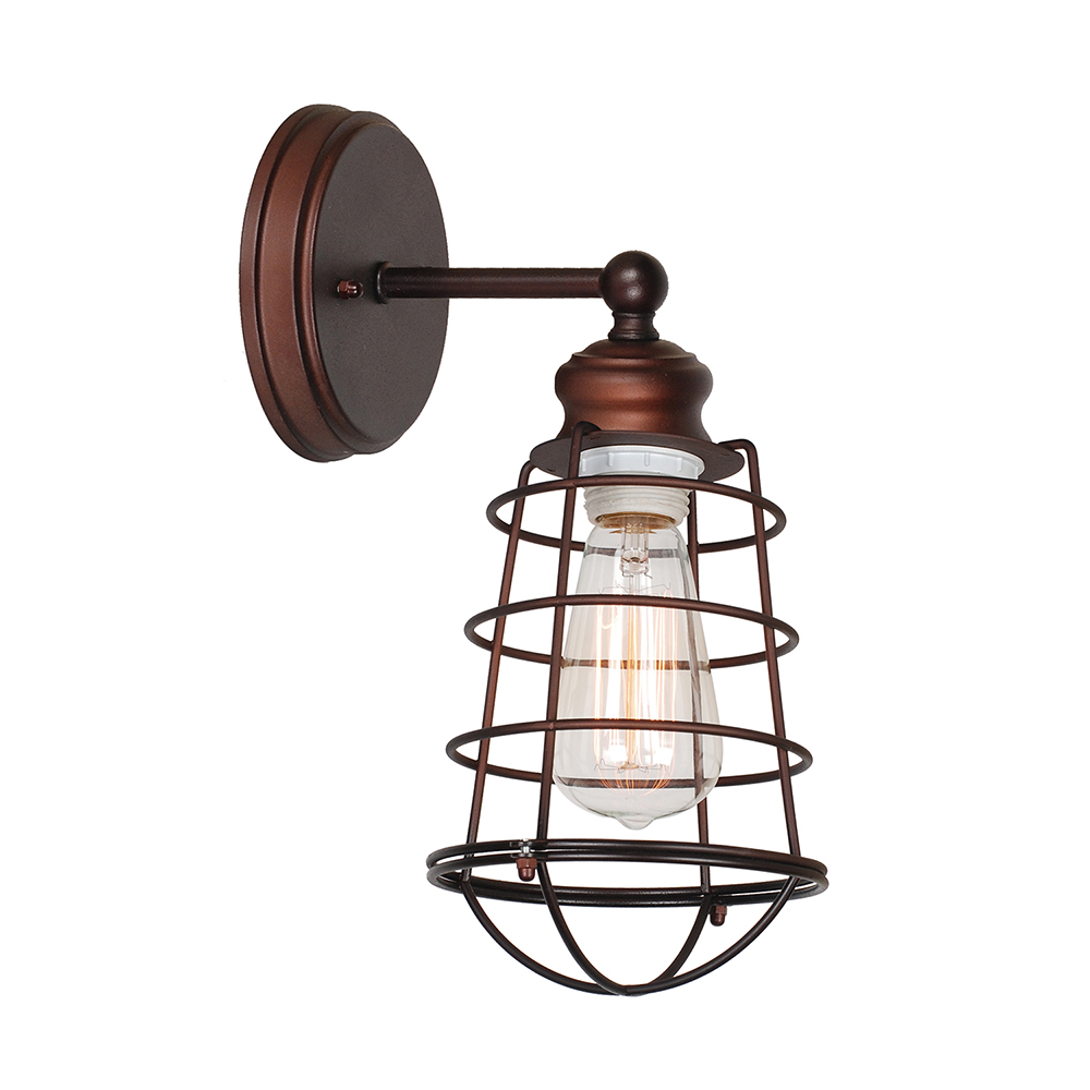 Design House 519710 Ajax 1-Light Wall Sconce, Coffee Bronze