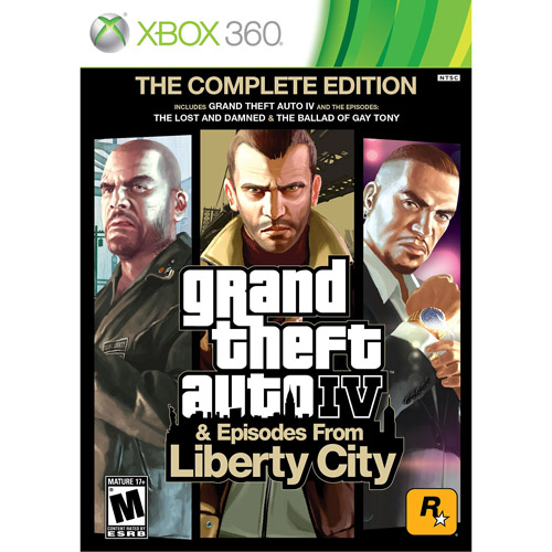 Xbox 360 - Grand Theft Auto IV Complete Edition
