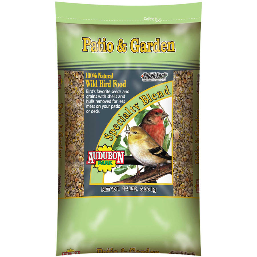 Audubon 10758 14 Lb Park Patio and Garden Wild Bird Food