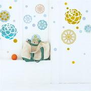 HL-1305 Paint Petals - Wall Decals Stickers Appliques Home Decor