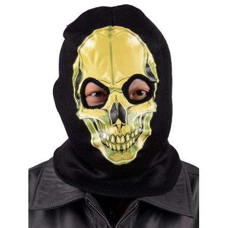 Balaclava Hood Skull Full Face Head Mask Protector Long Neck Tubular - Amc Halloween