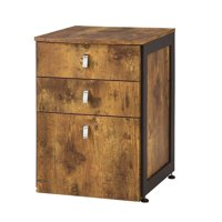 Bowery Hill 3 Drawer Lateral File Cabinet in Antique Nutmeg