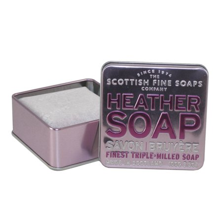 Heather Soap Finest Triple Milled Soap 3 5 Oz   100G Tin