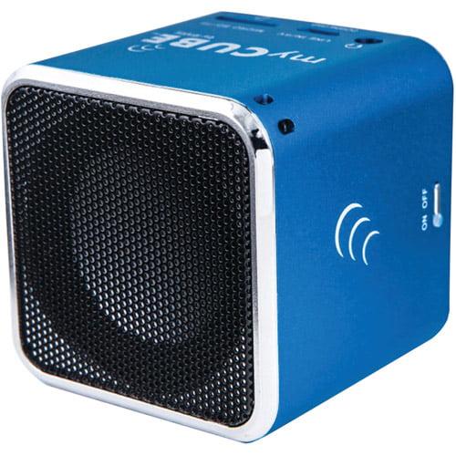 IENJOY IEMC1BLU02 MyCube Portable Speaker (Blue)