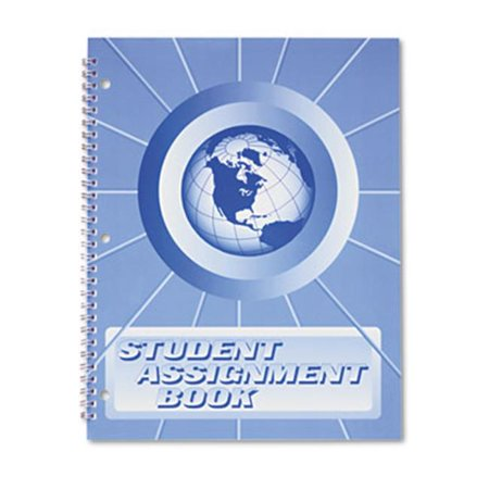 Assignment Notebooks (The Hubbard Company SA98 Student Assignment Book, 40 Weeks - Laminated Cover )