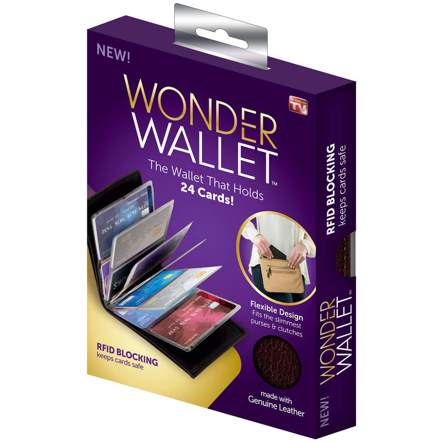 As Seen on TV Wonder Wallet, Black