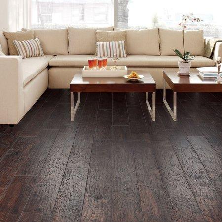 Select Surfaces Laminate Flooring Espresso 6 Planks 12 50 Sq Ft