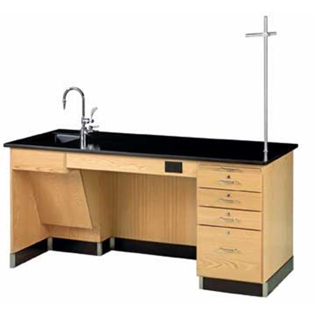 Diversified Woodcraft 1214K-L-ADA Desk-Instr-Ada-72X30X34